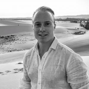 Portrait of Adrian Kjærran